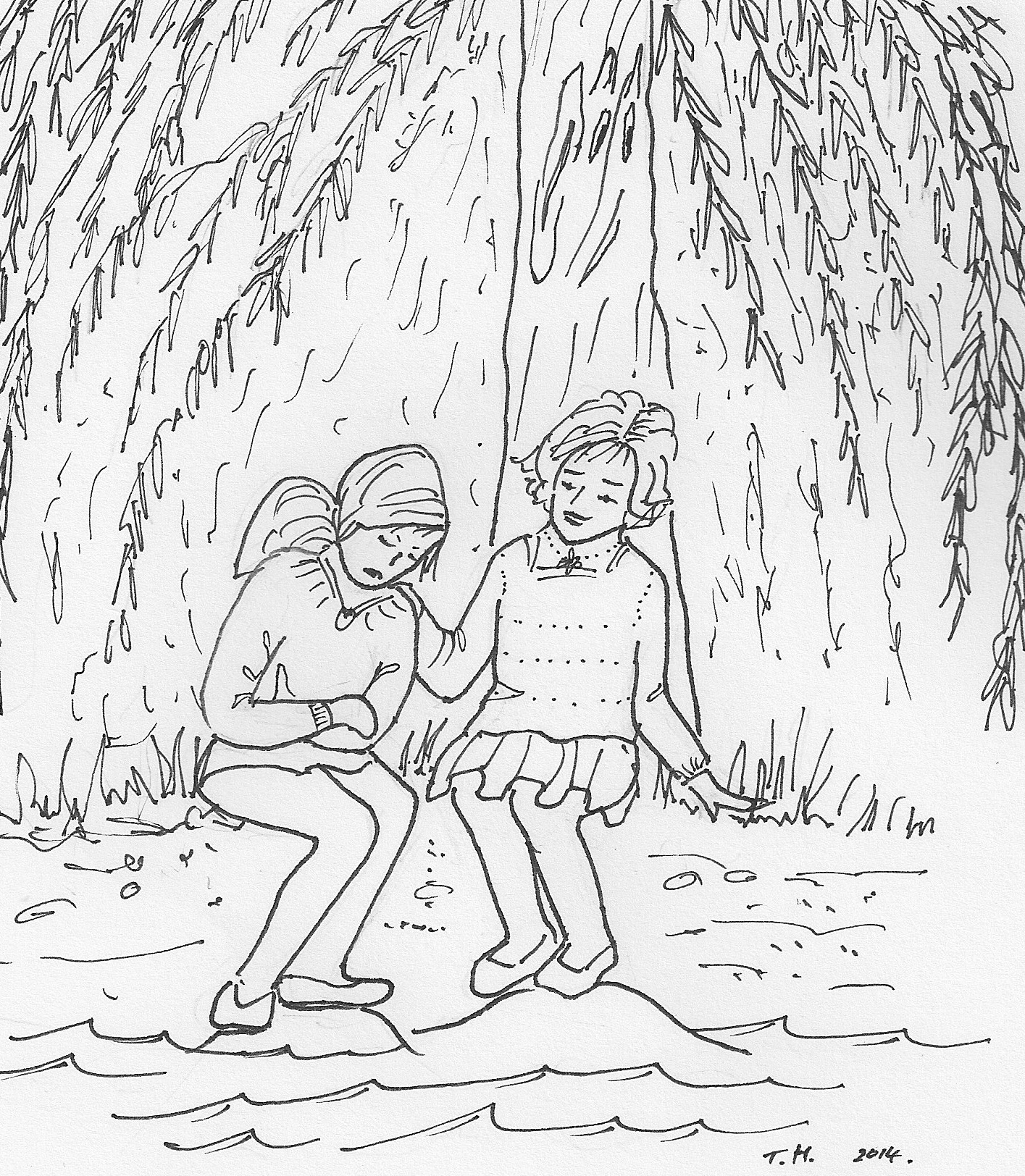 The Unhappy Weeping Willow Tree A Story For Young Girls 8 To 12